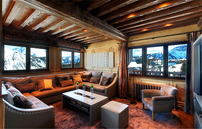 Chalet Christophe (Lounge) - COUCHEVEL